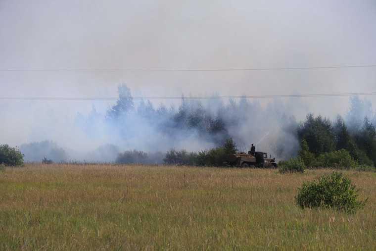 Площадь уничтоженного огнем курганского леса выросла в 5 раз. ФОТО, ВИДЕО