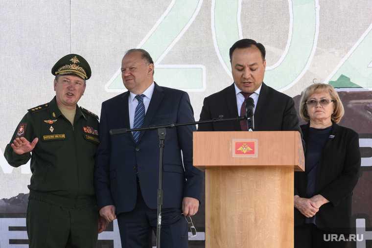 Старт форума Армия-2020 на полигоне Свердловский. Екатеринбург