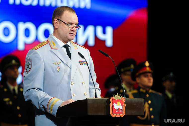ГУ МВД Андрей Сергеев коронавирус