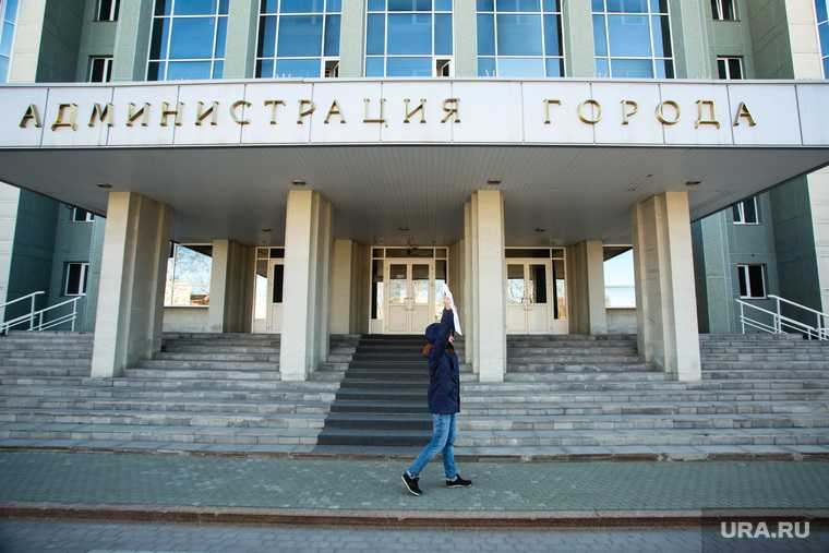 Одиночный пикет у здания администрации города дольщиками компании Северстрой». Сургут