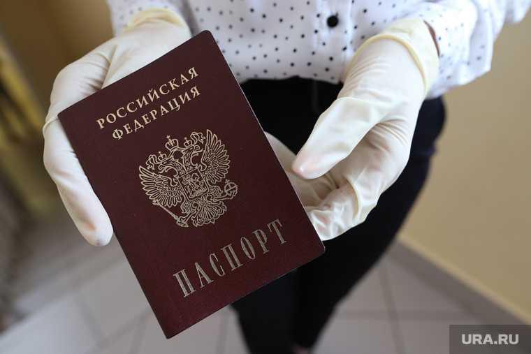 электронные паспорта в России