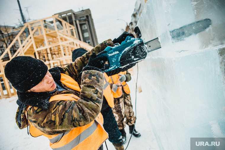 елки стоимость украшение ледовый городок власти траты новый год