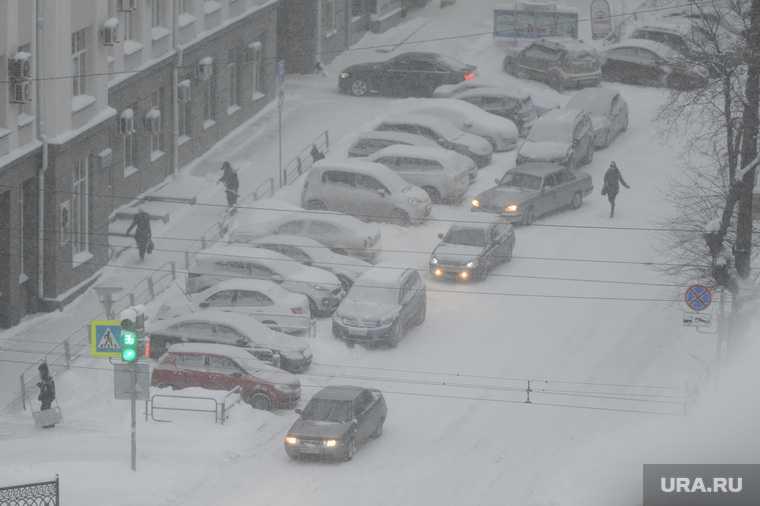 Челябинская область зима погода