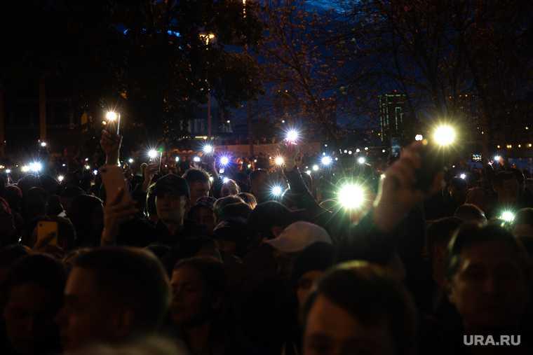 ЯНАО акция в поддержку Алексея Навального 14 февраля