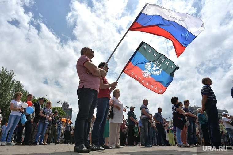 Украина Донбасс Россия вторжение генерал запаса армия добровольцы