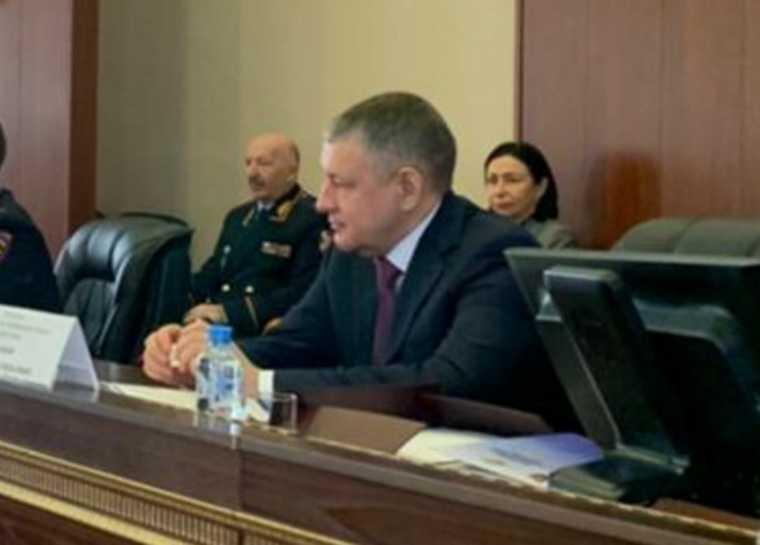Челябинская область губернатор Текслер начальник УФСБ Иванов Сизов совещание должность