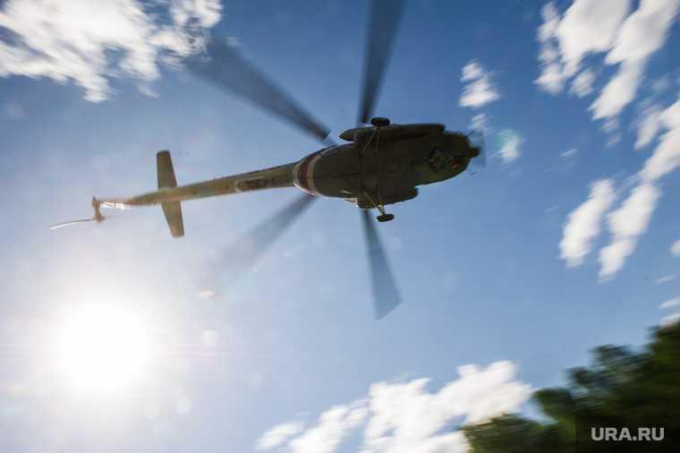 упал вертолет МЧС