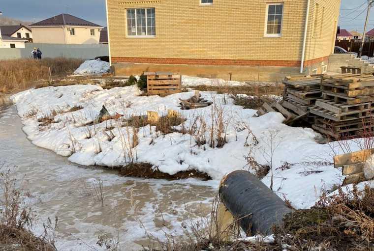 паводок затопило поселок Новый Исток Белоярский Свердловская область