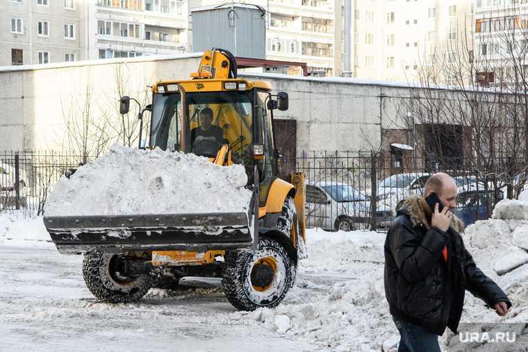 Екатеринбург чиновник снег уголовное дело нарушение