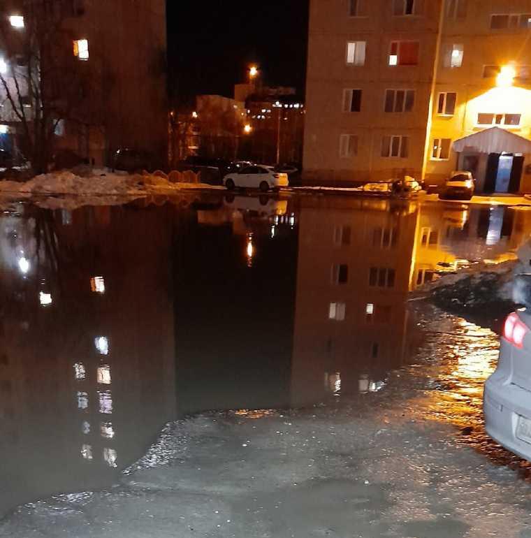 Жители по всему ХМАО отреагировали на массовые потопы. Фото