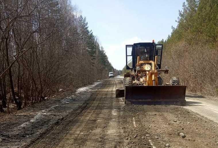 Челябинская область дорога весна паводок вода подмывание грунта миндортранс