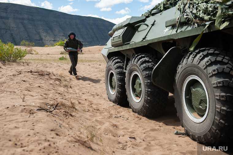 действия армии РФ