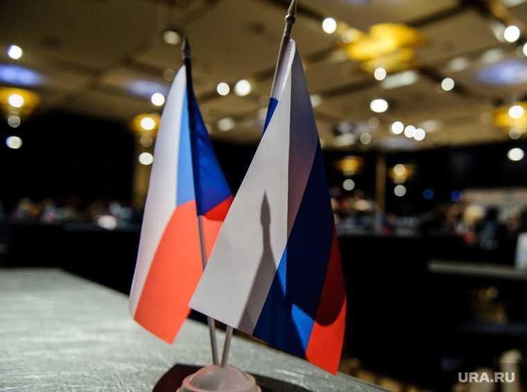У посольства РФ в Праге произошла потасовка
