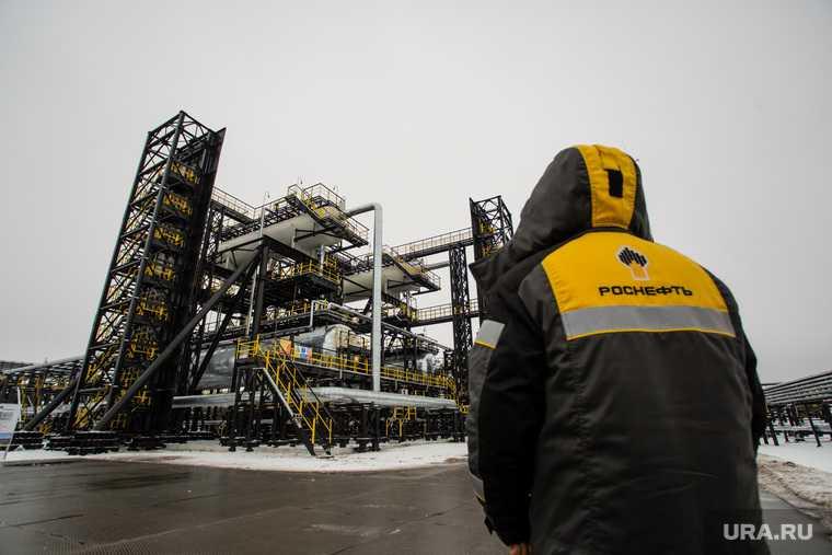 Роснефть нефть газ