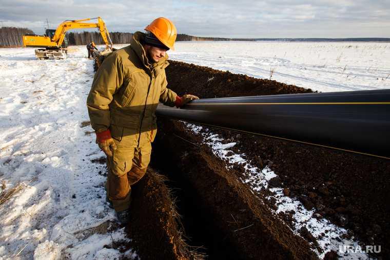 газ из России в Германию