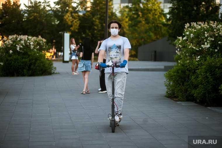 проверка водителей самокатов в Екатеринбурге