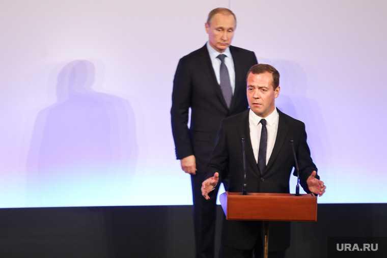 Медведев выступил сотчетом