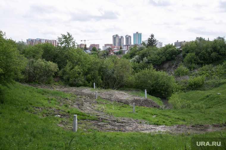 Лог , на месте которого хотят построить общежитие ТюмГУ. Покосившийся дом по ул. Беляева, который не могут сдать в эксплуатацию. Тюмень